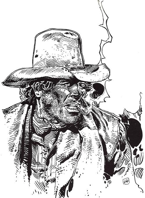 Moebius/Jean Giraud - The last face of Blueberry