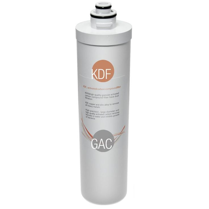 Quick-Change Inline KDF/Carbon Filter Fitts CU-A4