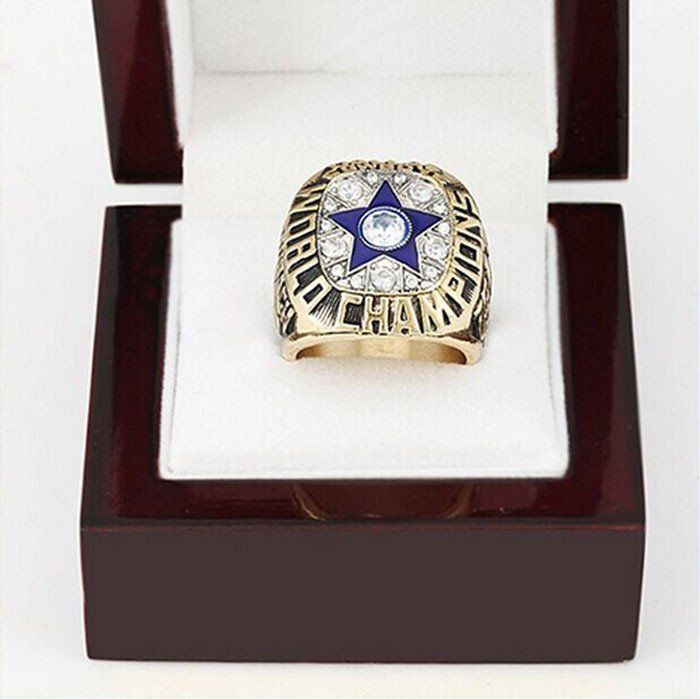 1971 Super Bowl Dallas Cowboys Copper High Quality fashion Sports Replica Men World Championship Ring with Gorgeous Wooden Boxes