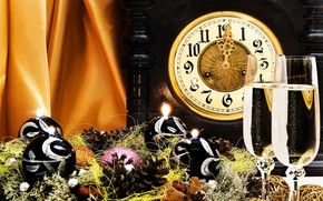 New Year Time HD Wallpaper