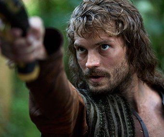 """... show """"New Worlds"""": The sequel to the popular, The Devil's Whore, Jamie  Dornan is brave and gallant (ahead of his leading role in Fifty Shades of  Grey) ..."""