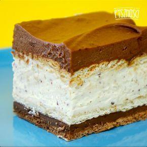 Domowe ciasto Kinder Bueno bez pieczenia | Popularne.pl