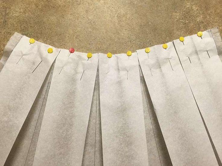 Tutoriales DIY: Cómo hacer una falda midi con pliegues vía DaWanda.com
