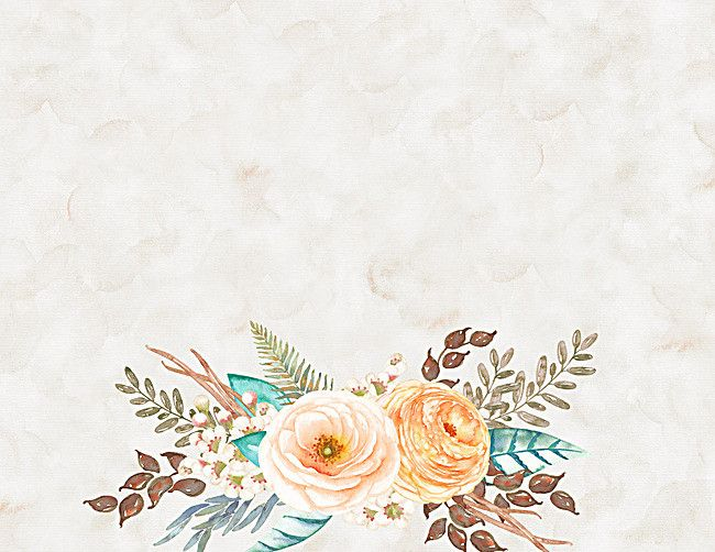 Watercolor Floral Background Vintage Poster Floral Background Background Vintage Free Watercolor Flowers