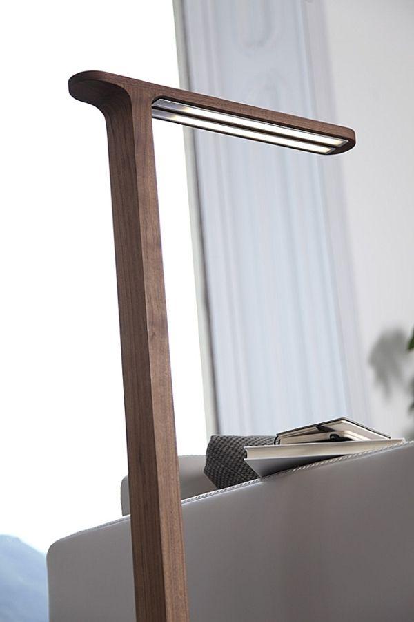 Popular einrichtungsidee Stehlampen Designs lampenfu holz