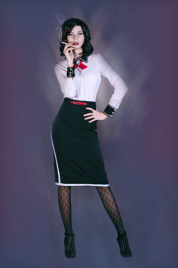 Op maat gemaakte - spel Bioshock infinite Elizabeth sexy handgemaakte cosplay kostuum door RSonlineShop op Etsy https://www.etsy.com/nl/listing/462626316/op-maat-gemaakte-spel-bioshock-infinite