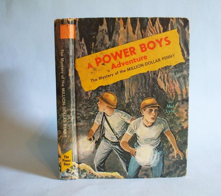 The Mystery of the Million Dollar Penny A Power Boys Adventure Vintage 1965 Mel Lyle by BoxThirteen on Etsy