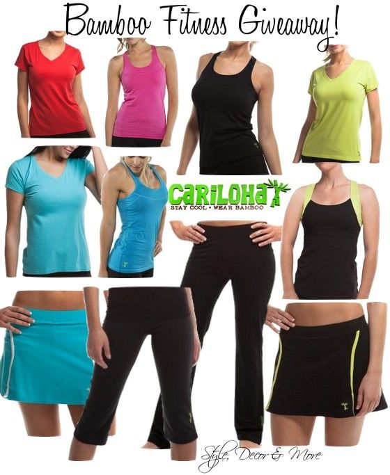 Style, Decor  More: Cariloha Bamboo Performance Wear {Review  Giveaway} http://www.styledecordeals.com/2014/06/cariloha-bamboo-performance-wear-review.html