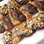 Chocolate-Dipped Chocolate Chip Cookies