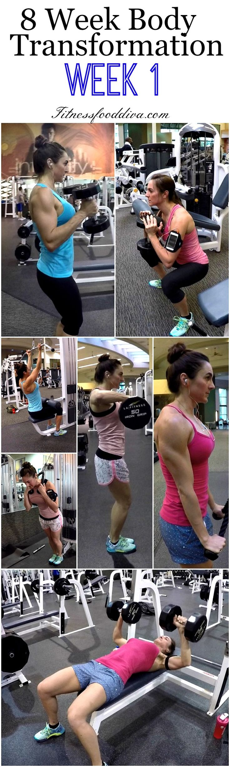 8 Week Body Transformation is going strong. Here is the entire week at your fingertips. You can download them or use the mobile site to have free access to each workout, just scroll down to the bottom of the page and have a great workout! Day 1: Legs Day 2: Chest and Triceps Day 3:...Read More »