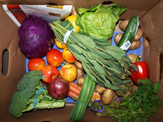 Good Food Box: Check out Fernwood NRG