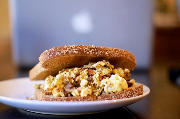 Egg & Chorizo Sandwich | 23 Breakfasts That Might Actually Save Your Life
