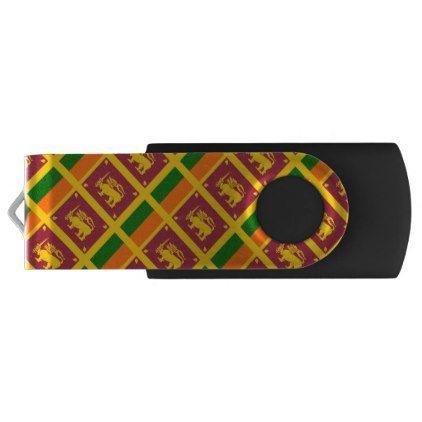 Sri Lanka flag USB Flash Drive - create your own personalize