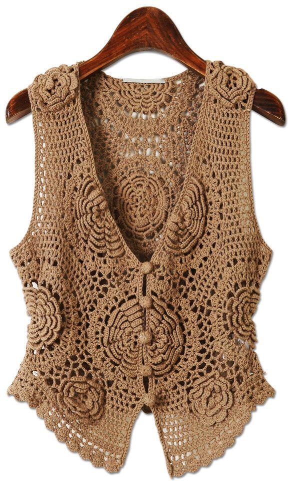 coletes de crochê Moda de coletes está sempre presente dias fresquinhos nada melhor que colocar colete e ficar cheia de charme modelos coletes em crochê