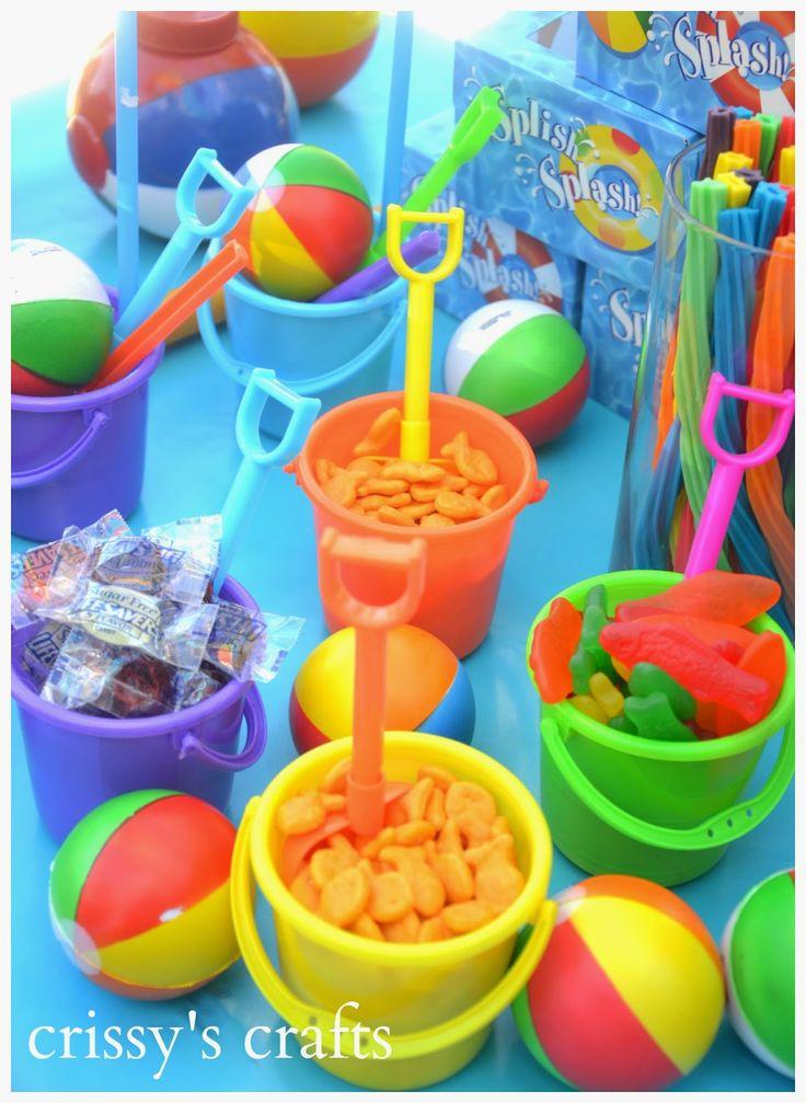 de crissy oficios fiesta en la piscina de verano