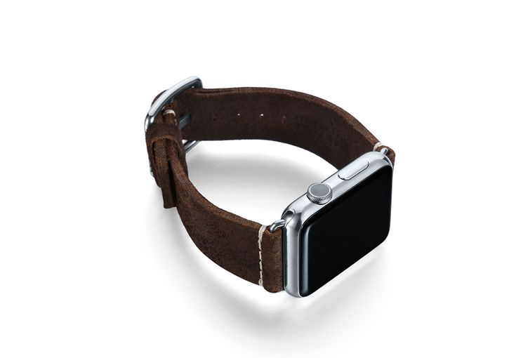 $ 84.00 Cottage Chocolate - Cottage Chocolate for Apple watch band Series 1|2, with an Intense Brown color easy to match any kind of Outfit. Available 42 mm