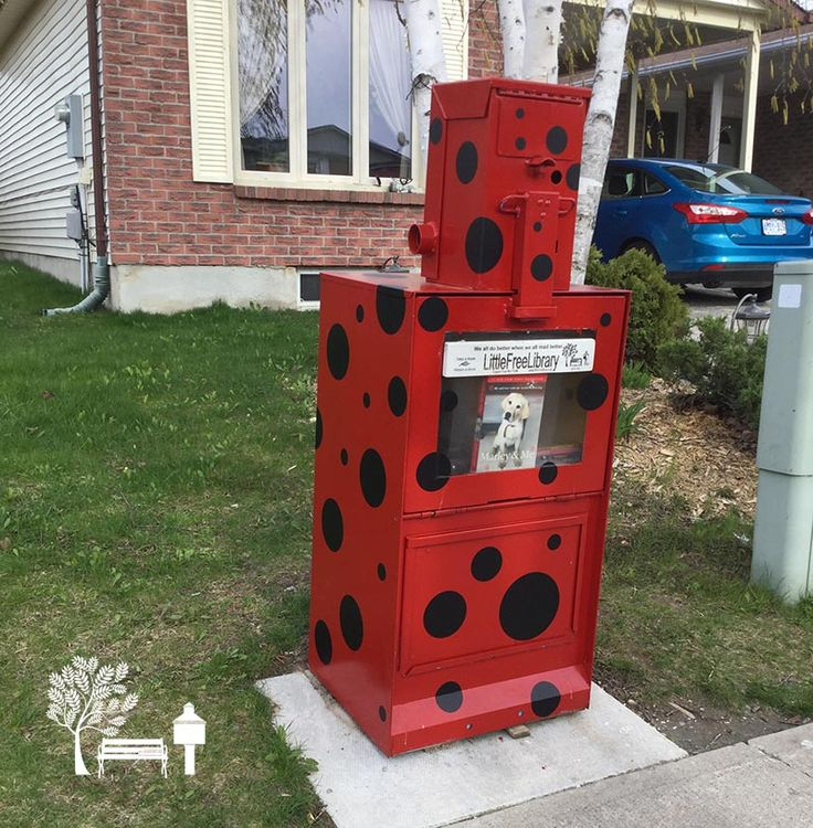 Jamie Naessens. Bradford, ON. Dedicated to Tom Huehn and all of the others who made this Little Free Library possible. Serving the Bradford community since 2014.