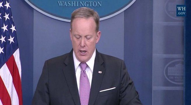 "Washington: The White House has issued a stern warning to Syrian President Bashar Assad, claiming ""potential"" evidence that Syria was preparing for another chemical weapons attack. In an ominous statement issued late Monday with no supporting evidence or further explanation, Press Secretary Sean..."