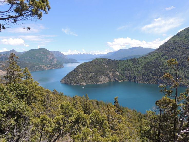 Bariloche, Argentina - beautiful drive through the forests surrounding Bariloche
