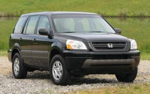 2005 Honda Pilot.  I got a great 2 year lease on this car to use as a second vehicle.  Very comfortable and could haul a lot of stuff.