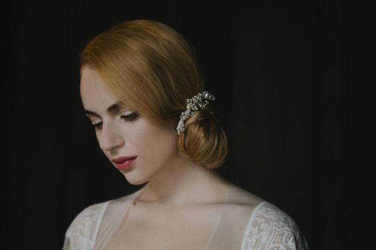 Foto Pure Withe Photography  Abito Couture Hayez  pettinino capelli di http://rigorosamentesposa.blogspot.it/