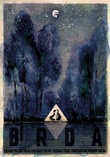 Brda, plakat z serii Polska, Ryszard Kaja