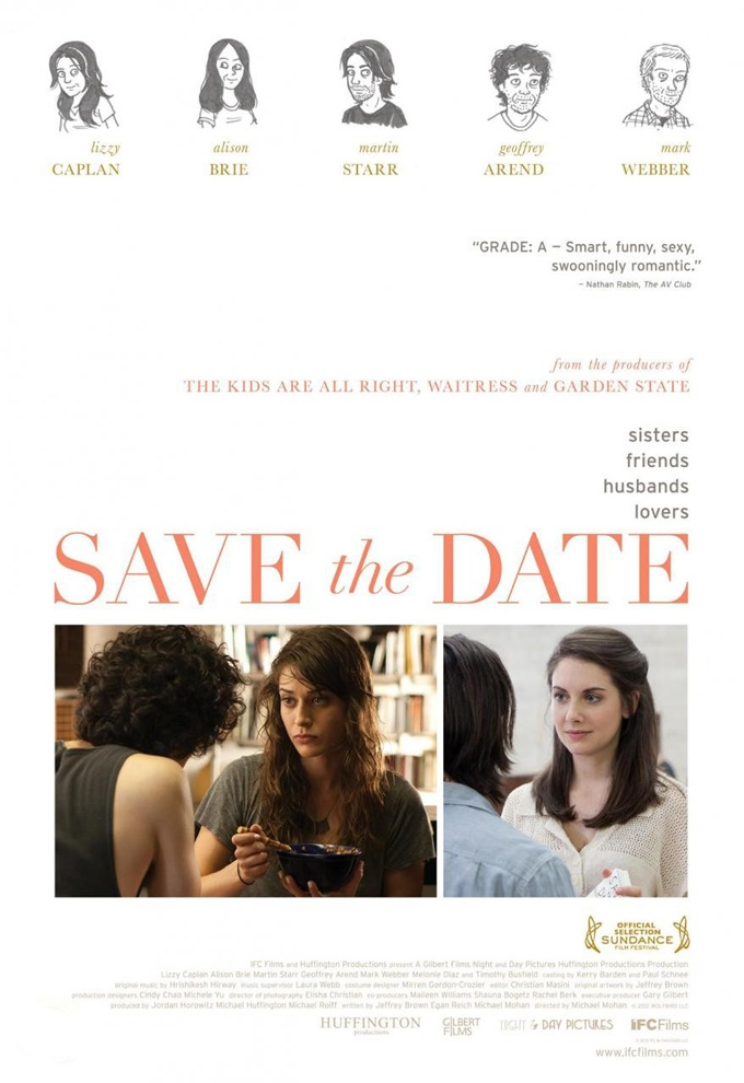 Are You Happier? Trailer & Poster For 'Save The Date' With Alison Brie, Lizzy Caplan & Martin Starr | The Playlist