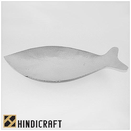 Fish Look Like Steel Hammard Platter    www.hindicraft.com  sales@hindicraft.com