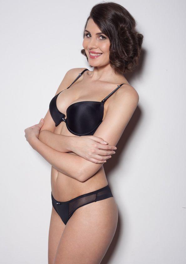 Samanta lingerie - New collect Heka black bra: A476 pants: M300 www.samanta.eu