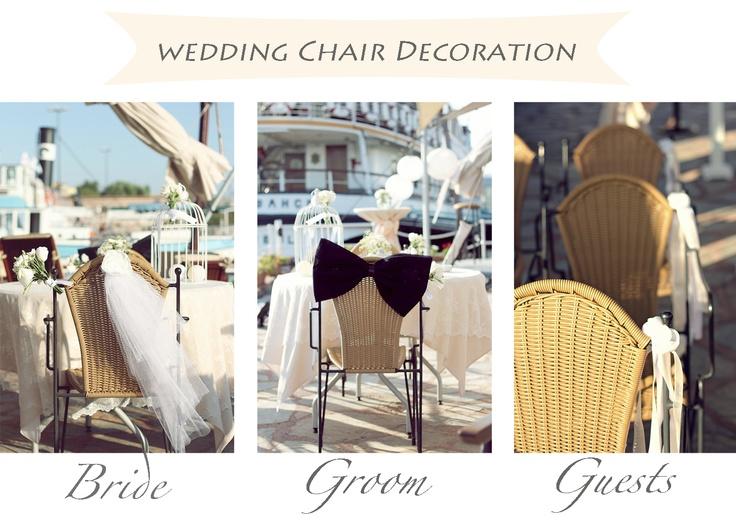 Chair decoration/Sandalye dekorasyonu