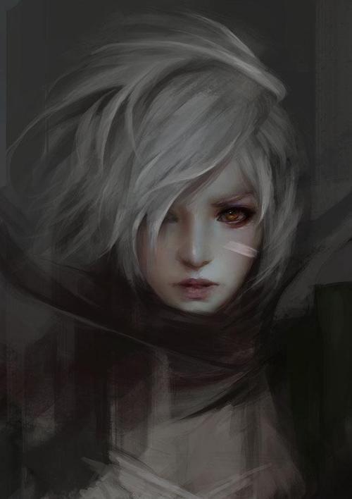 imagen de fan art  league of legends  and riven