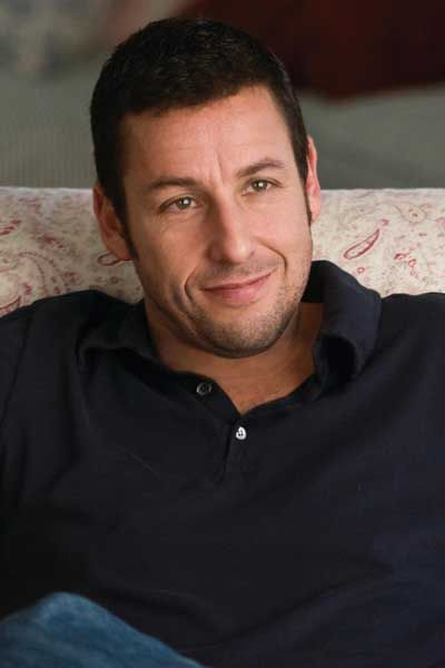 Adam Sandler... something about him. Hes so cute and would be so fun to hang out with!
