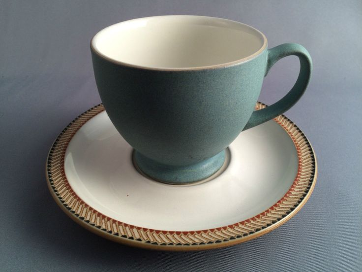 Denby Luxor Cup and Saucer from the popular now discontinued rangeDenby StonewareTea & 60 best Denby Items for Sale images on Pinterest