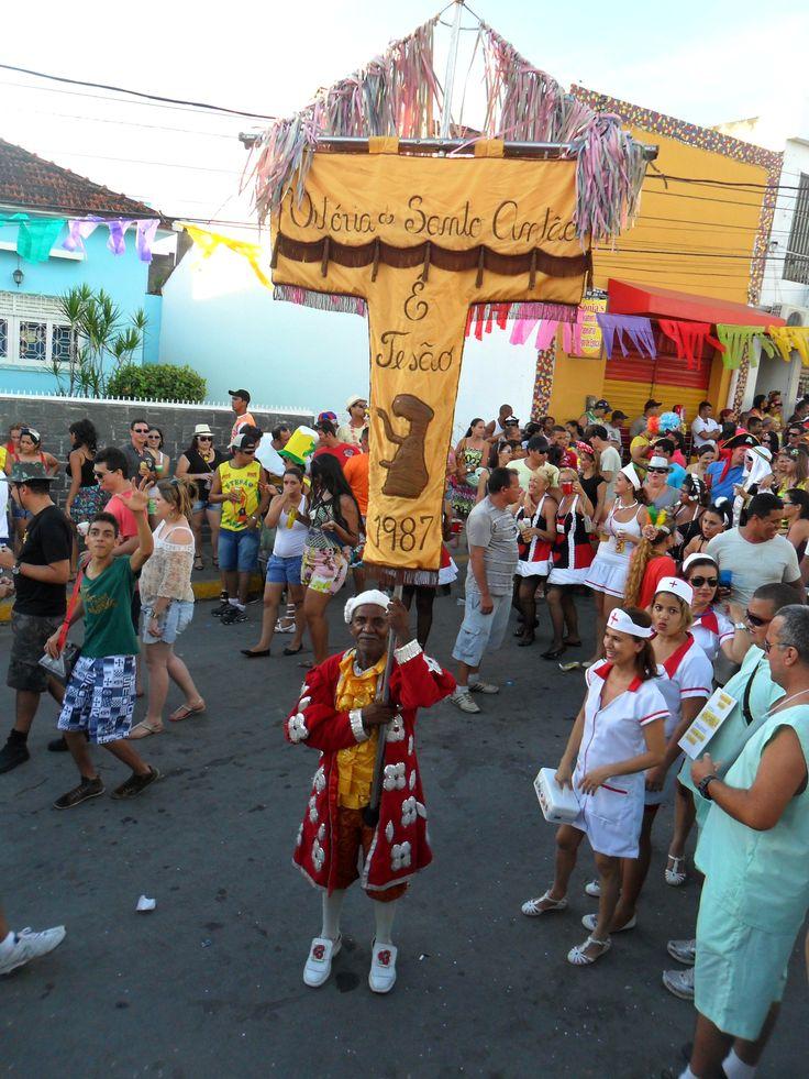 Estandarte do Bloco E.Tesão Carnaval 2014