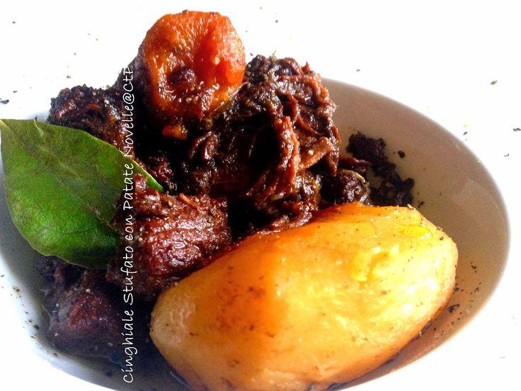 Ricetta dello stufato di cinghiale un secondo delizioso che si accompagna con patate o con polenta