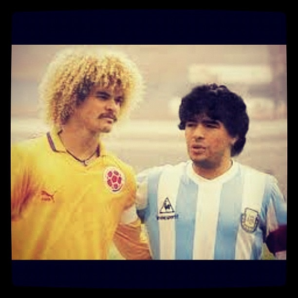 @seleccion_colombia | #maradona #argentina #colombia #pibe #pibevalderrama #seleccioncolombia #sant... | Webstagram - the best Instagram viewer