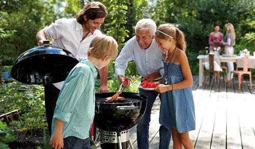 Weber barbecues in leuke kleurtjes - Colorfull weber barbecues #Fonteyn