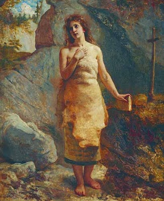 """Hermit Woman""  Artist: Wojciech Gerson  Image from Wikimedia Commons"