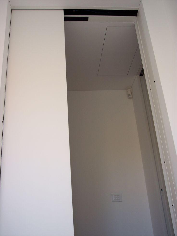 7 best images about porta scorrevole blindata automatica on pinterest - Dettaglio porta scorrevole ...
