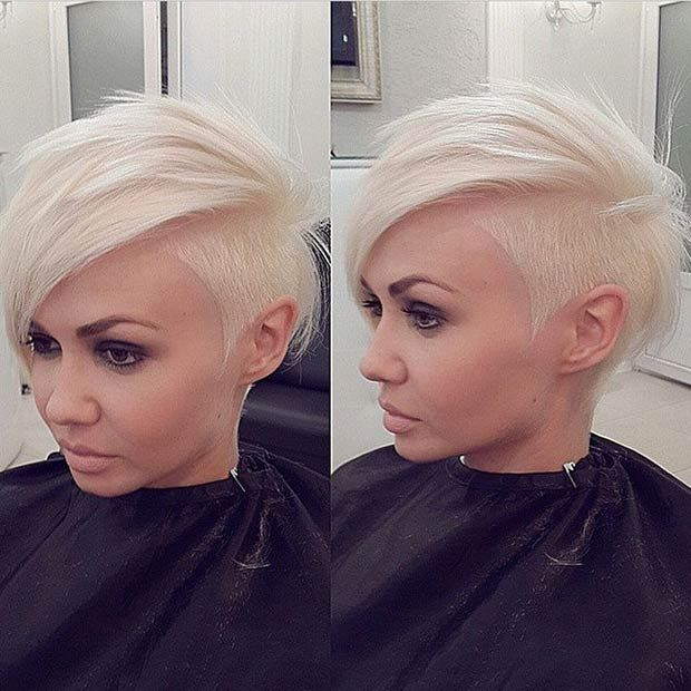 23 Most Badass Shaved Hairstyles for Women