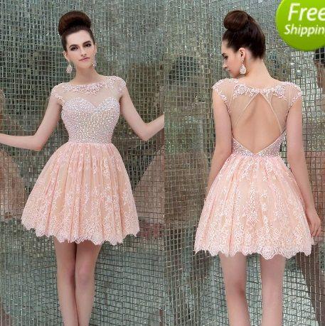 Beaded Bodice Lace Overlay Skirt Homecoming Prom Wedding Bridal Chiffon Long Dress - Let's Journey into Fashion