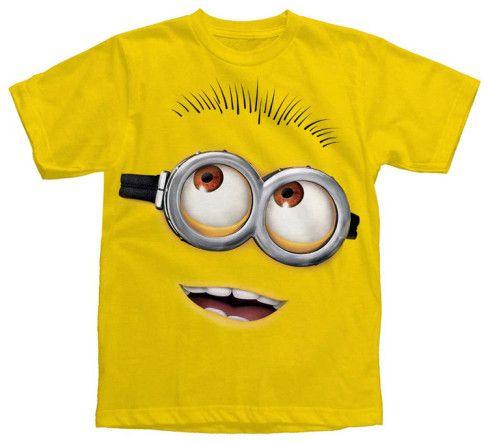 Youth: Despicable Me 2 - Big Head T-Shirt at AllPosters.com