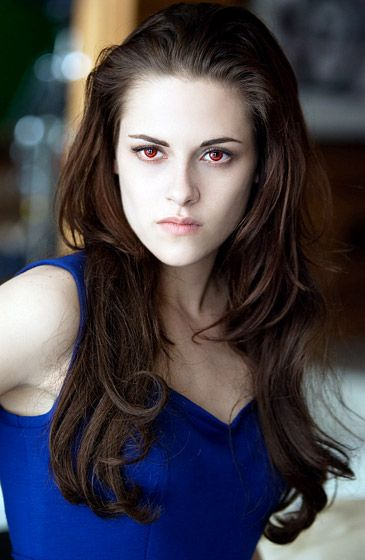 Kristen Stewart and Robert Pattinson in The Twilight Saga: Breaking Dawn - Part 2: Vampire Bella