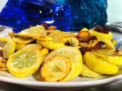 Cravatte ai fornelli: Zucchine gialle alla mediterranea