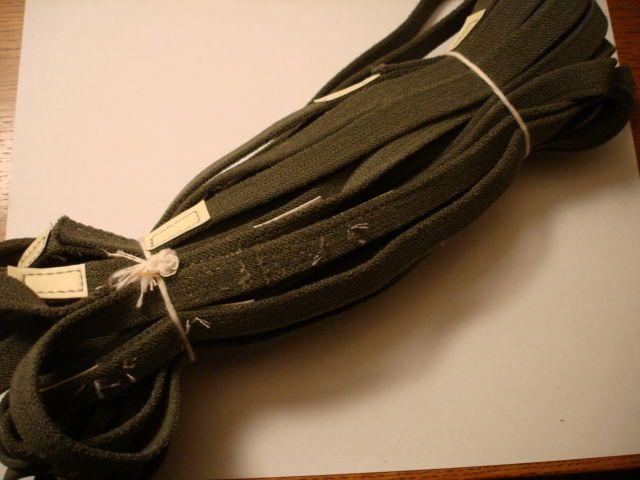 Helmet Band w/ Cat Eyes Elastic New Olive Drab Set of 24