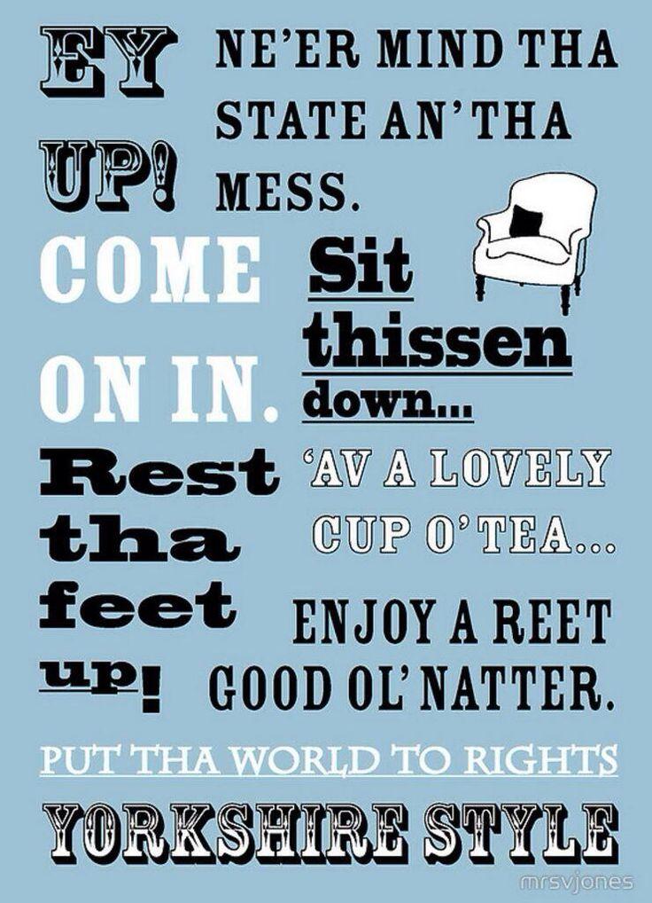 Yorkshire Style. #yorkshire #RePin by AT Social Media Marketing - Pinterest Marketing Specialists ATSocialMedia.co.uk