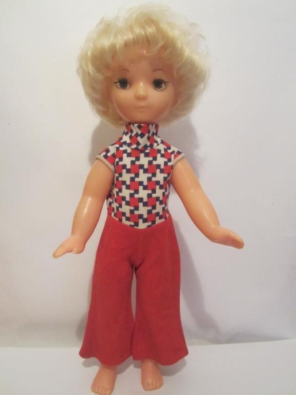 Кукла в брючном костюме Страуме. Игрушки СССР - http://samoe-vazhnoe.blogspot.ru/