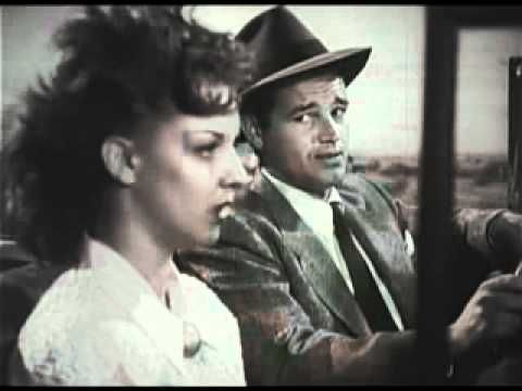 Detour (1945 Film Noir Classic) - The epitome of the American Film Noir Genre, Detour tells the story of a pianist that goes on an ill-fated car ride leaving the driver dead. Worse, he gets stuck with a woman who blackmails him to no end under the threat she will go to the police and claim he murdered the driver, even though the driver's death had nothing to do with him.