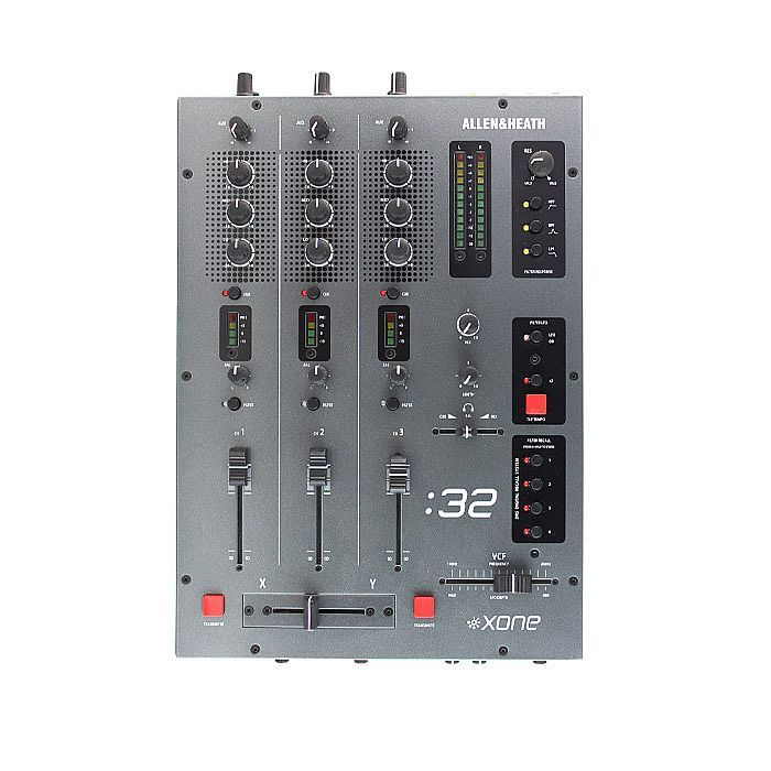 Buy Allen & Heath Xone 32 DJ Mixer at Juno Records. In stock now for same day shipping. Allen & Heath Xone 32 DJ Mixer