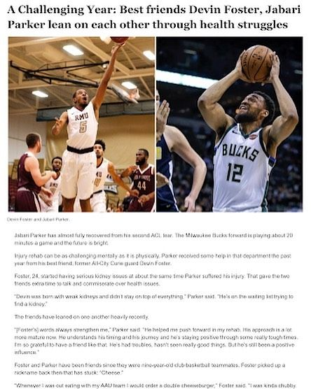 One of the toughest and most competitive player I've ever met and played against in high school is in need of a kidney donor.  Chicago Basketball players all fight on the court but off the court we're all brothers. Please check out and read the article in my bio.  My prayers are with you bro. Keep your head up and keep fighting. You have that never give up mentality @thatboy_cheese    #help #inspire #motivate #family #friends #helpful #believe #gettingbetter #truth #chicago #life #reachout #